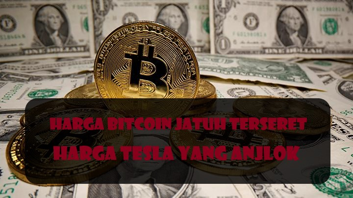 Harga Bitcoin Jatuh Terseret Harga Tesla Yang Anjlok